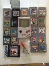 Nintendo Game Boy DMG?01 inkl. 20 Spiele (Zelda Links Awakening, Pokémon)