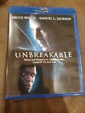 Unbreakable (Blu-ray Disc, 2008) M Night Shyamalan Bruce Willis