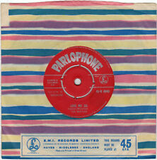 """7"""" 45 Beatles, The """"Love Me Do"""" PARLOPHONE 45-R 4949 early red label tax code ZT"""
