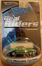 HOT WHEELS REAL RIDERS 1970 MERCURY CYCLONE H9216 *NEW*