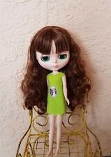Factory Type Neo Blythe Doll Brown Hair - DEFECTIVE - FLAWED - AS IS