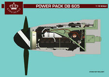 HPH Model 1:18 Power Plant Bf 109 G-6 DB 605 - Resin Engine Model Kit #KS18101R