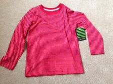 John Lewis Striped 100% Cotton Long Sleeve Boys' T-Shirts & Tops (2-16 Years)