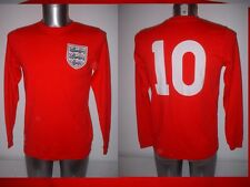 England Hurst Chemise Jersey Football Soccer Adulte Petit 1966 UMBRO coton top L/S