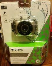 Vivitar DVR 781hd MAKE A SPLASH Action Cam SILVER - Waterproof NEW