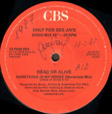 PSYCHÉDÉLIQUE FOURRURES / DEAD OR ALIVE - Angels Don't Cry (New York Mix) - CBS