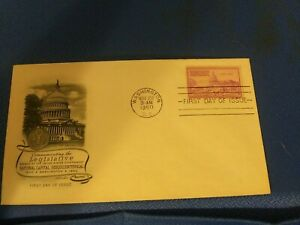 Scott #992 3 Cent Stamp Honoring  Legislative Branch Of The U.S. Government FDC