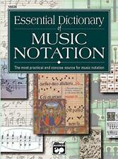 Essential Dictionary of Music Notation (The essential dictionary series]) by Tom