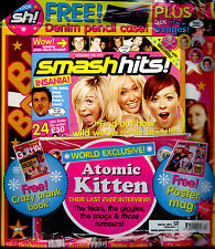 SMASH HITS 2004 ATOMIC KITTEN THE DARKNESS BIG BROVAZ BUSTED MCFLY