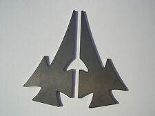 2 Steel Maltese cross gussets (3154) motorcycle motorbike frame custom handlebar