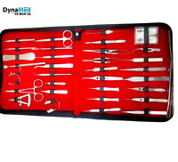 Ophthalmic Eye Micro Surgery Kit of 33 pcs Surgical Instruments SET Kit