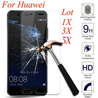 5Pcs 9H+ Premium Tempered Glass Film Cover Screen Protector For Huawei P8 P9 P10