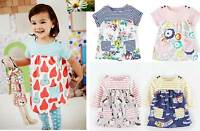 Mini Boden girls baby hotchpotch cotton jersey summer dress 0 - 3 years  NEW