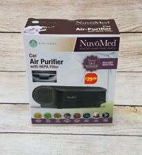 *NEW IN BOX* NuvoMed Air-Care Car Air Purifier With Hepa Filter CPHF-6/0724