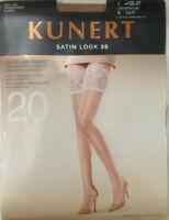KUNERT Damen-Feinkniestr/ümpfe Satin Look 20