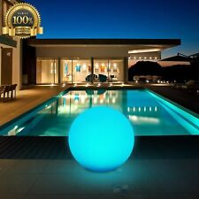 LED Ball Light Rechargeable Remote Control Cordless Light RGB Color Decor Ball