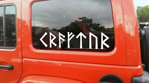 Strength in Norse Runes Vinyl Decal - Nordic Viking Futhark - Die Cut Sticker