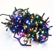 Luci di Natale a 96 Led Misti Colorati Uso Interno ed Esterno con Trasformatore
