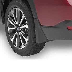 OEM 2014-2018 Subaru Forester Splash Guard Mud Flap Set 4 Matte Black J1010SG300
