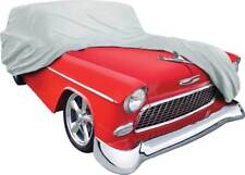1955 Chevrolet 2 / 4 Door Wagon Gray Softshield Flannel Car Cover