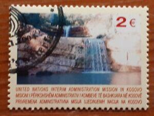 RARE 2004 Kosovo Single Issue Stamp - e2 Mirusha Waterfall - PC/NH