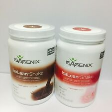 Isagenix Hi Protein Shake Strawberry Chocolate Tub Weight Loss Meal Replacement