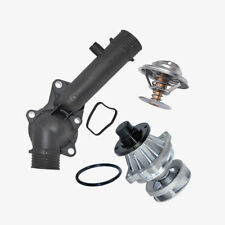 Engine Water Pump Thermostat + Housing + Seal For BMW E39 528i Premium Quality