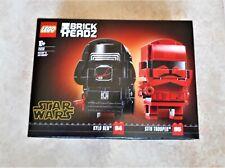 LEGO BRICKHEADZ 75232 STAR WARS - SITH TROOPER & KYLO REN - NUOVO SIGILLATO