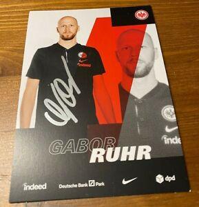Gabor Ruhr - sign. Eintracht Frankfurt AK 2020/21 - !! TOP !!