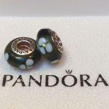 PANDORA® ORIGINAL SILVER & MURANO GLASS CHARM ~ Ref.: 790.604