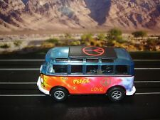 AUTO WORLD ~ '65 VW Samba Peace Bus  ~ New in Jewel Case ~ Also Fits AFX, AW