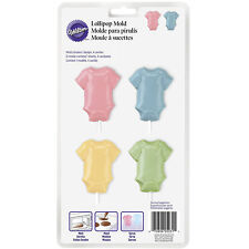 Wilton BABY T SHIRT Candy Chocolate Lolli Mould Children New Arrivals Decorating