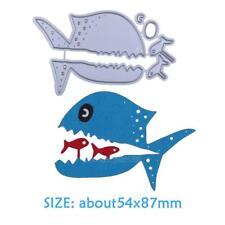 Shark Fish Cutting Dies Stencil for DIY Scrapbooking Embossing Album Card Craft