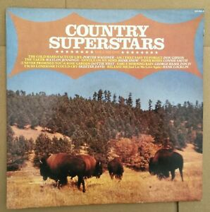 """Various Country Artists """"Country Superstars Vol. 1"""" Camden Records, LP, Album."""