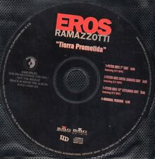 Eros RAMAZZOTTI	Tierra Prometida PROMO USA 4-TRACK	CD SINGLE	2466-2RLDJ	1998	USA