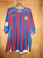 Maillot BARCELONE F.C BARCELONA RONALDINHO NIKE home shirt camiseta vintage M