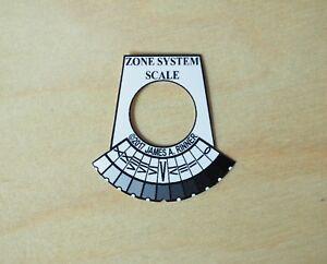 Pentax Spotmeter V 1/21 III Zone System Scale VI Analog WaterProof Vinyl Pre-Cut