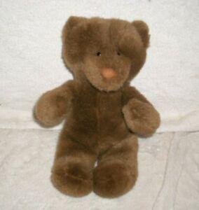 "12"" VINTAGE 1988 BROWN TAN CALLARD TEDDY BEAR STUFFED ANIMAL PLUSH NORTH AMERICN"