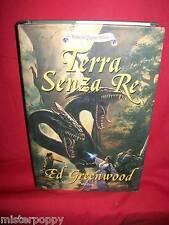 ED GREENWOOD Terra senza re 2006 Armenia Prima Edizione