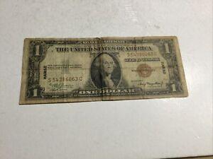 1935A Series $1 Silver Certificate w/HAWAII Overprint     #1374
