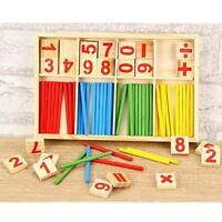 Montessori mathématique Intelligence bâton jouet éducatif préscolaire Compter@EH