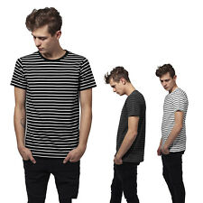 Urban Classics a Rayas Camiseta Rayas Rayas Linine con Líneas de Rayas