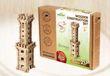 Igroteco Eco Wooden KidsWooden Castle Tower – Construction Set Puzzle (213pcs)