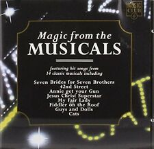 Magic from the Musicals Starlight Express, Hair, Fiddler on the Roof.. [CD]