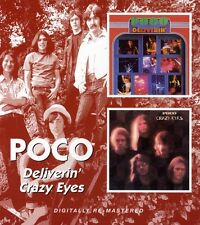 Poco - Deliverin / Crazy Eyes [New CD] Rmst, Reissue, England - Import