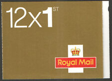 MF5 / SB1(16) MTIL / - 2009 Walsall 12 x 1st Class Booklet