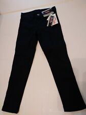 Authentic Galaxy By Harvic School Uniform Girls Size 4 Navy Blue Pants Nwt
