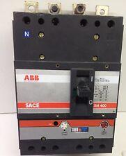 ABB SACE SN400 660V 400 AMP AIR CIRCUIT BREAKER LM734082 MA522704