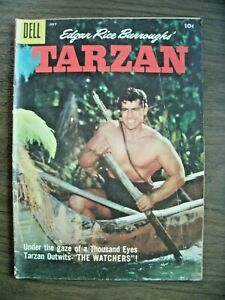 TARZAN-EDGAR RICE BURROUGHS' #94 JULY 1957 DELL-SILVER AGE-BROTHERS OF THE SPEAR