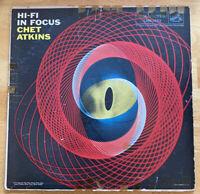 """USED! Chet Atkins: """"Hi-fi In Focus"""" LP Vinyl Record-G"""